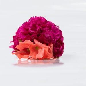 Ramillete bicolor para flamencas