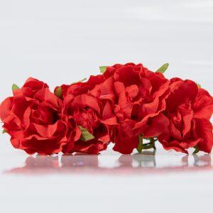 Ramillete monocolor para flamenca
