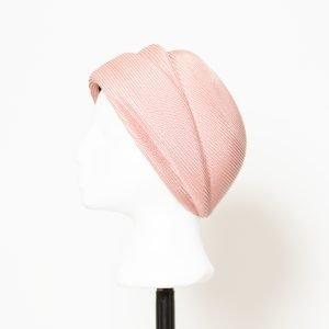 Casquete Grace Kelly en rosado